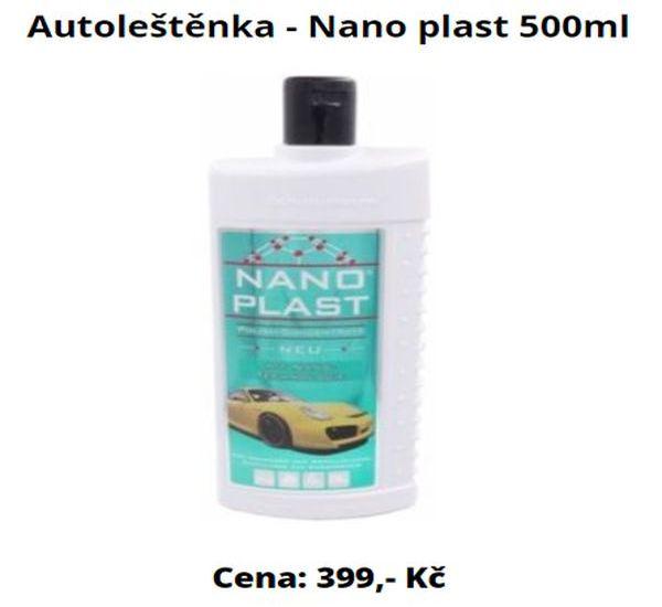 Autoleštěnka - Nano plast