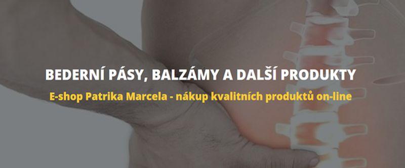 BEDERNÍ PÁSY – prodej bederních pásů v e-shopu Patrika Marcela z Plzně