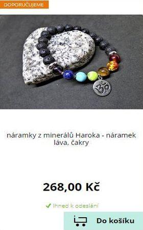E-shop HAROKA - Náramky z minerálních kamenů - Ruční výroba