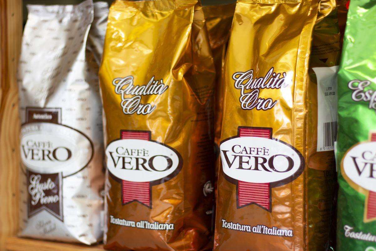 Prodejna zrnkové kávy Arabica - Vito Grande